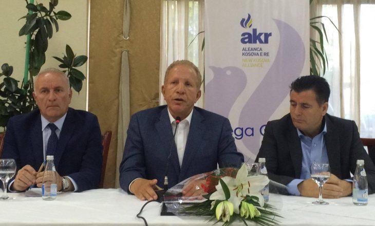 Nënkryetari i AKR-së falënderon Kadri Veselin