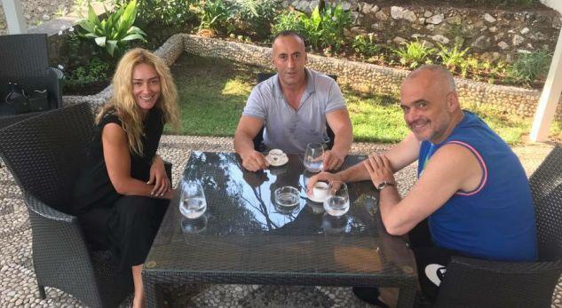 Ramush Haradinaj takohet me Edi Ramën
