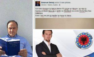 Diplomacia kosovare në dorë të personit që nuk di të shkruajë