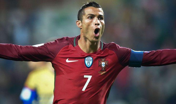 Ronaldo kompleton het-trikun
