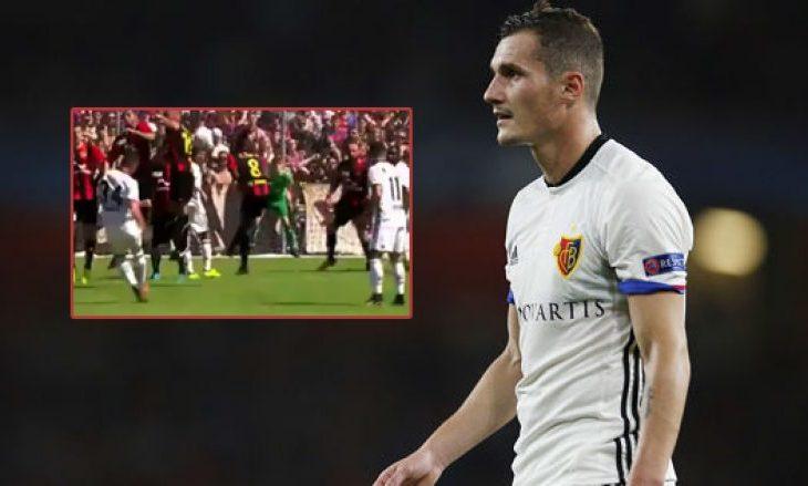 VIDEO: Xhaka realizon gol nga gjuajtja e lirë