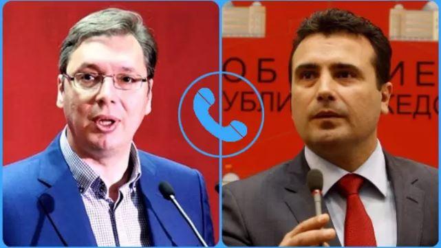 Vuçiq dhe Zaev zhvillojnë bisedë telefonike