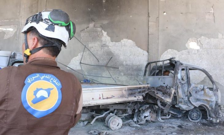 """Vriten shtatë vullnetarë të """"Helmetave të bardha"""""""