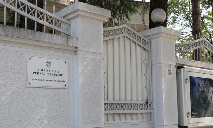 Personeli i ambasadës serbe nesër kthehet në Shkup
