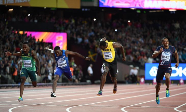 Usain Bolt bie nga froni në garën e fundit të karrierës