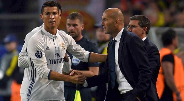 Zidane zbulon të ardhmen e Ronaldos