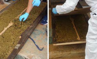 """""""Çelësi"""" i barit – Si i zbuloi Policia 135 kg marihuanë në dyer"""