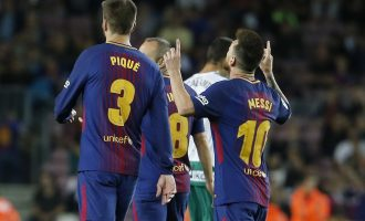 Fitorja e lehtë e Barcelonës