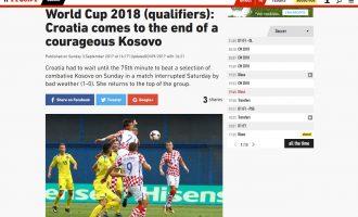 L'Equipe: Kroacia mposhti në fund një Kosovë guximtare