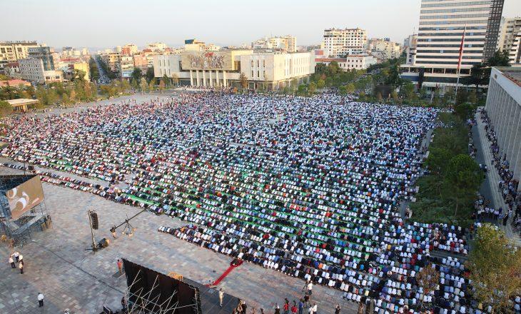 Skënderbeu mungon edhe në fotografitë zyrtare të Komunitetit Mysliman në Shqipëri