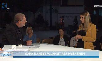 Kritika e Baton Haxhiut për gazetaren e televizionit të tij
