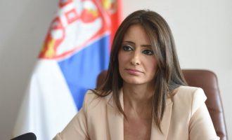 Ministrja serbe: Unë e pengova Kosovën të anëtarësohet në Interpol