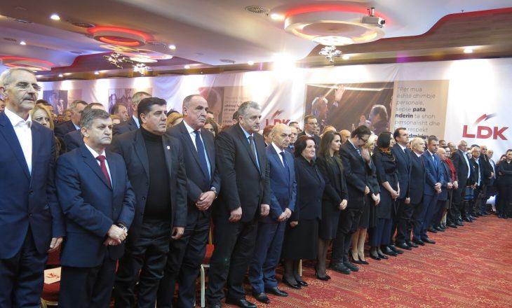 LDK e shqetësuar për funksionimin e Qeverisë Haradinaj