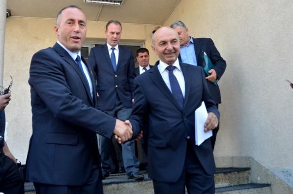 Dita e marrëveshjeve, Mustafa fillon takimin me Haradinajn