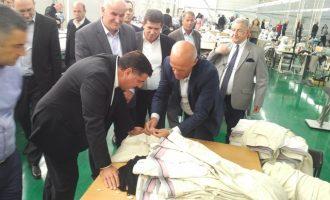 """Haziri: Hapja e fabrikës """"Vitex"""" do të ndikojë në zhvillimin ekonomik"""