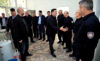 Haziri: Në vitin e ardhshëm do ta ndërtojmë objektin e dytë për zjarrfikësit