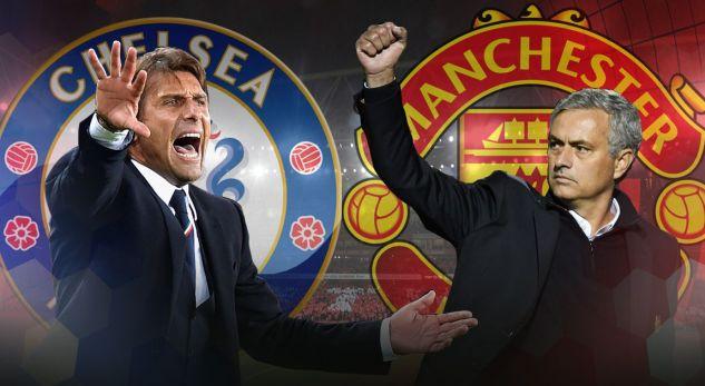 Formacionet për ndeshjen Chelsea – Manchester United