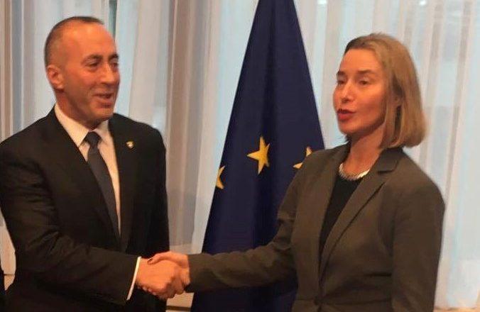 Anulohet konferenca e Haradinajt me Mogherinin