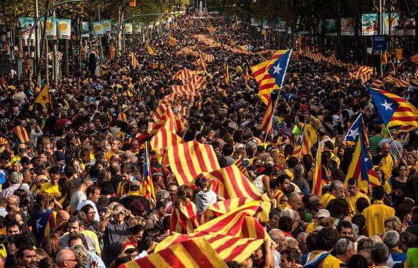 Protestë në Katalonjë