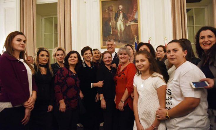 Thaçi pritet nga kryetari i komuniteti kosovar në Halifax të Kanadasë