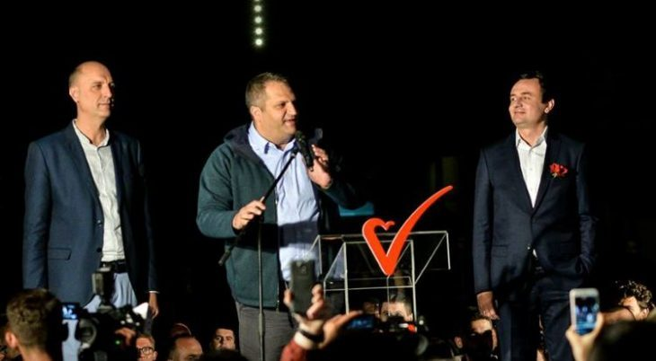 Kurti uron bashkë partiakët, thotë se vatra e patriotizmit është Kamenica