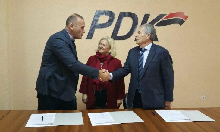 PDK gjen partnerin për balotazh në Mitrovicë