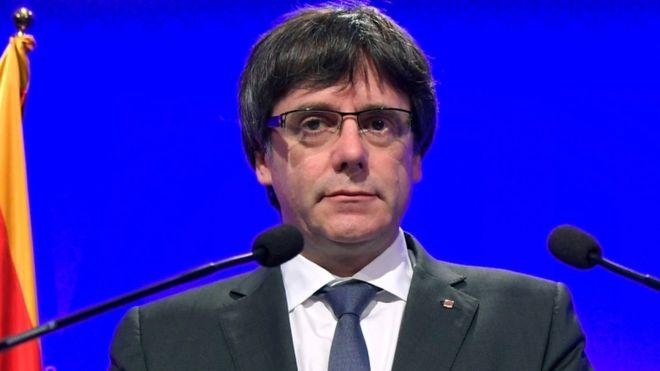 Urdhër arresti për udhëheqësin e Katalonias