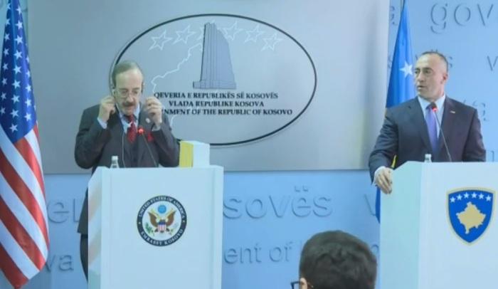 Haradinaj kërkon ndihmën e ShBA-së për temat e mëdha