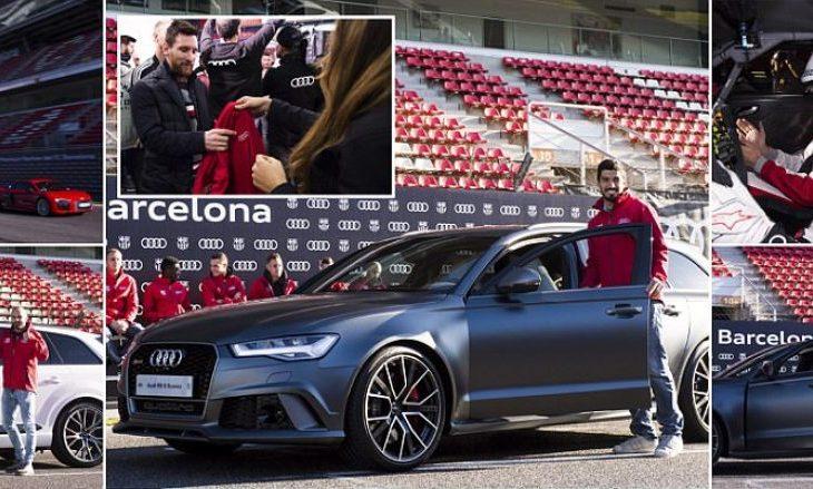 Audi shpërblen edhe futbollistët e Barcelonës: Messi dhe Suarez zgjedhin modelin e njëjtë