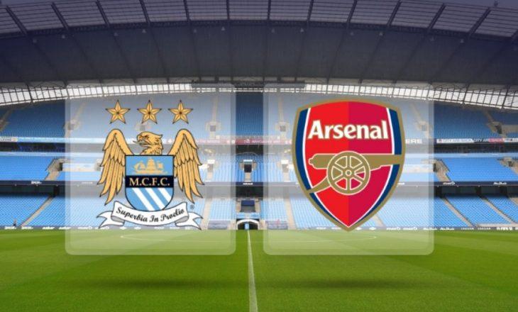 Formacionet zyrtare, City – Arsenal (Foto)