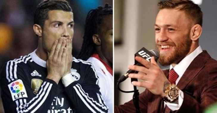 McGregor ka rival Cristiano Ronaldo-n për 2018-ën