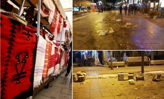 """""""Bërllok vendor"""" – kryeqyteti i ndotur pas panairit """"Blej Shqip"""""""