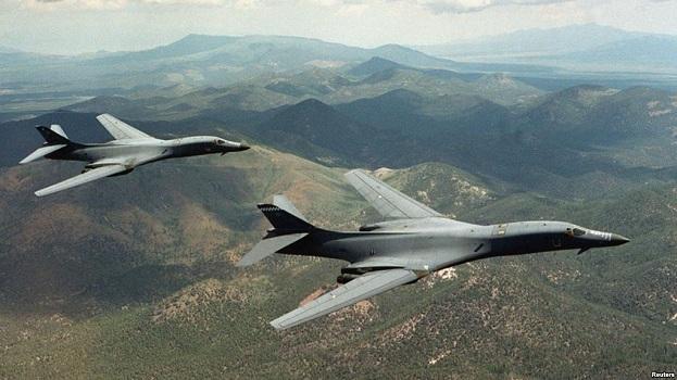 SHBA dërguan bombardues supersonikë mbi Korenë Jugore