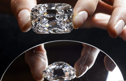 Ankand luksoz i diamanteve në New York