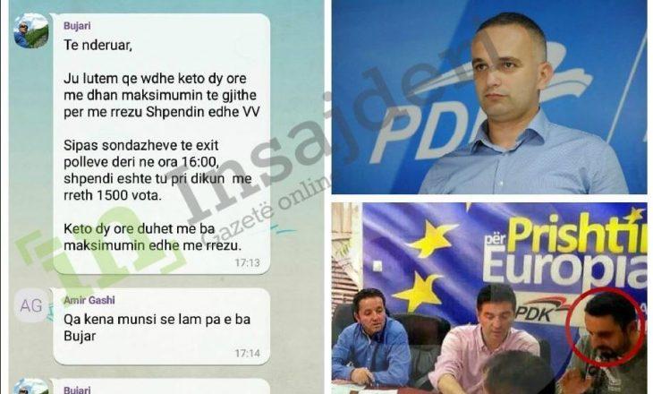 Mobilizimi i orëve të fundit i PDK-së në Prishtinë: E kemi mundësinë historike me rrëzu Shpendin