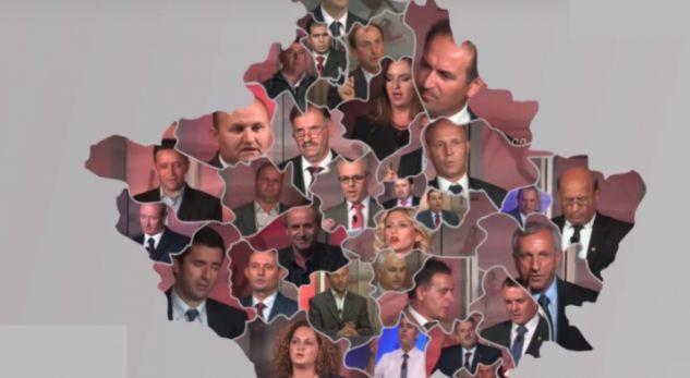 Gjeografia e re e partive në komuna