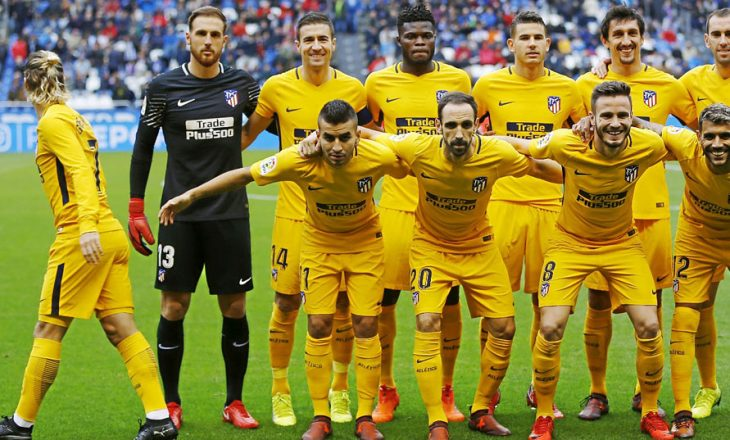 Griezmann i lë vetëm shokët te Atletico – FOTO