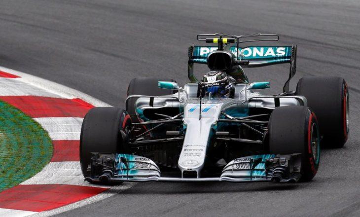 Bottas merr 'pole position', lë pas Hamiltonin