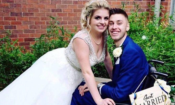 """Dhëndri që """"po vdiste nga kanceri"""" la pa fjalë të ftuarit, u thotë se ai nuk vuante fare nga një sëmundje vdekjeprurëse"""