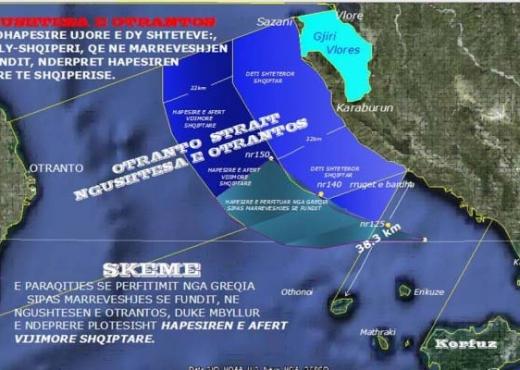 A do rinegociojë Greqia me Shqipërinë për kufirin detar?