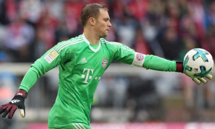 """Lajm shumë i keq për Bayernin, """"Bild"""" e konfirmon sa do të mungojë Neuer"""