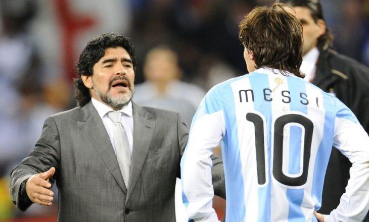 Pesë golat e Messit që janë identike si të Maradonas
