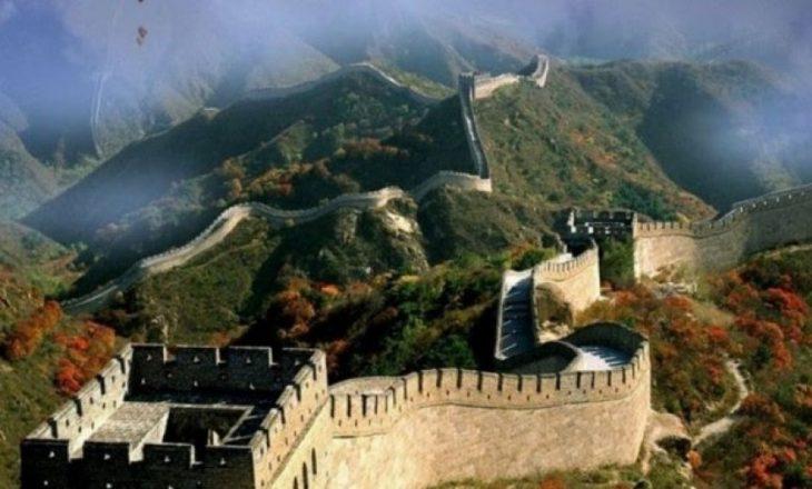 Muri i Madh Kinez u hap për turistë para 47 vjetëve