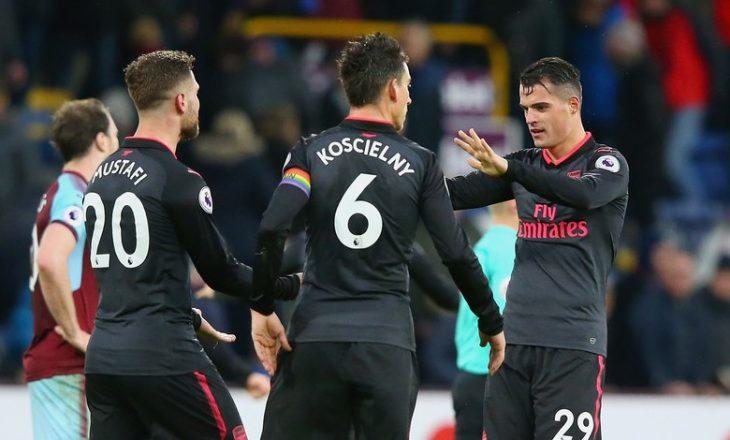 Notat e Xhakës e Mustafit në fitoren e Arsenalit [Foto]