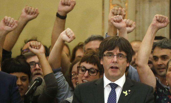 Spanja lëshon urdhër-arrest për njeriun që shpalli pavarësinë e Katalonjës