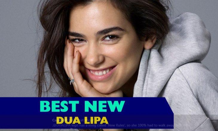 """Dua Lipa fiton """"Këngëtarja më e mirë e re"""" në MTV Ema"""