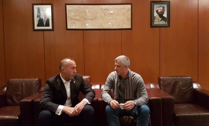 Haradinaj konsultohet me Thaçin para nisjes për Bruksel