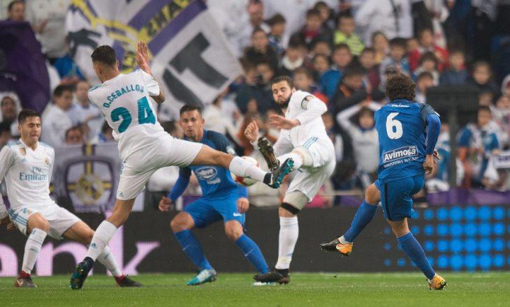 Real Madridi ndalet në Bernabeu, por kalon tutje në Kupën e Mbretit [Video]
