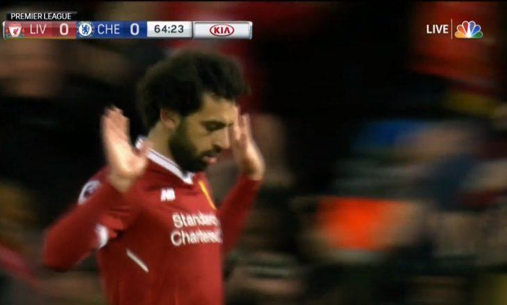 Salah i shënon Chelseat, nuk e feston golin [Video]