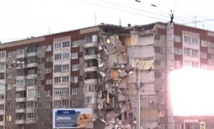Shpërthimi i gazit shemb 32 banesa